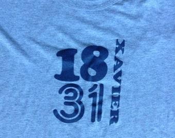 Vintage Xavier University t shirt small