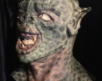Vintage Halloween Mask Creature from the Black Lagoon Full Head Mask at Gothic Rose Antiques