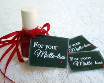 Christmas Tags For Your Mistle-toes DIY Christmas Craft