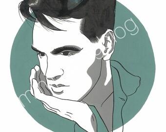 Morrissey 8x10 Print