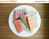 ON SALE SET of 7 Linen bridesmaid clutch bags pleated linen choose your colour, bridal clutch, Rustic
