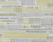 Carkai Stitches in Silver, Carolyn Friedlander, Robert Kaufman Fabrics, 100% Cotton Fabric, AFR-15796-186 SILVER