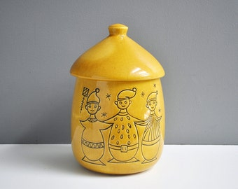 Vintage German Pixie Elf Cookie Jar