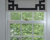 Reserved For Casey- Greet Key Flat Roman Shade