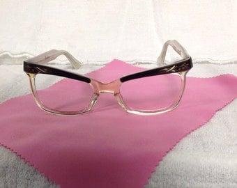 True vintage Cateye eyewear made in France.