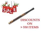 """ON SALE: Vintage Cigarette Holder. Antique Long Cigarette Holder """"MODERN"""" 6.7"""" /170mm fits regulars brown pear wood /Best Price"""