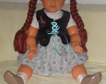 Handcrafted Doll From Poland 24 inches High 1960s
