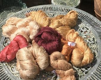 1500 gram of Silk yarns