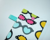Sunglasses Case - Bright and Funky Glasses - Gift Under 10