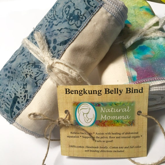 Bengkung Belly Binding Muslin 2 Sizes By NaturalMommaCare
