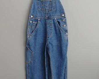 vintage LEVI'S denim jeans dungarees bib overalls  unisex Levi overalls 28 x 26