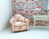 Doll House Miniature chair...country cottage style...OOAK...artisan