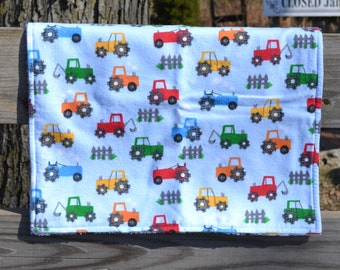 "Security Blanket - Baby Lovey - 15"" x 17"" Flannel and Super Plush Fabric - Blankie"