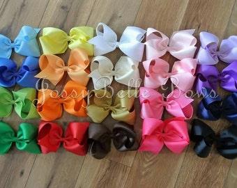 """6"""" Boutique Bow Bundle (Qty 5 Bows)"""