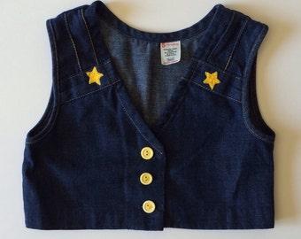 1970's Sears Star Vest (5t)