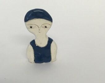 Mini swimmer - ceramic