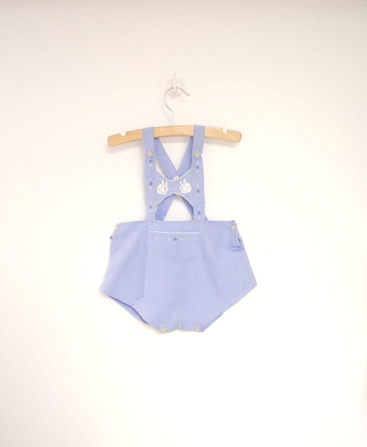 vintage baby clothes 1940 s handmade sky blue and white