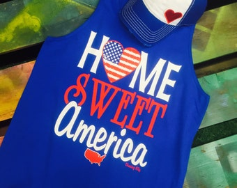 Home Sweet America soft style shirt