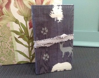 Forest Deer,  Budget book cover, financial peace, check book, organizer cover