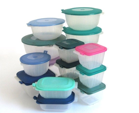 Anchor Hocking Plastic Containers Microwave Pop Top Storables