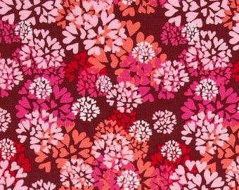 64004 - Nel Whatmore  Memory Lane  Agapanthus in Pink color - 1 yard
