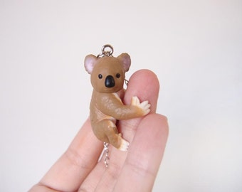 Miniature koala necklace