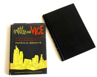 Vittles and Vice Cookbook Patricia Bronte 1952 Chicago Regional Folklore Recipes