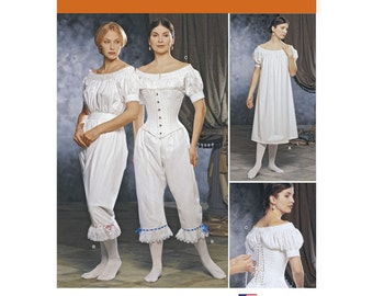 Simplicity Pattern 1139 Misses' Civil War Undergarments ~ Two Sizes Available ~ Factory Folded UnCut Sewing Pattern