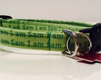 I Am Sam - Dog Collar - Adjustable