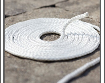 White Nylon ROPE to be used with Custom BACKDROPS  by Bella Bella Studios