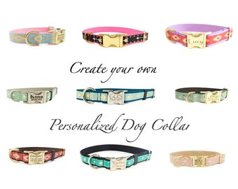 Personalized Dog Collar, Create your own collar