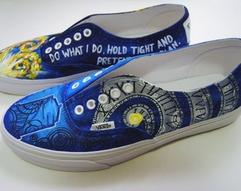 VANS, Custom Painted Shoes, Mens and Womens