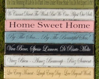 Personalised Sign Vintage Rustic Shabby Chic Extra Large