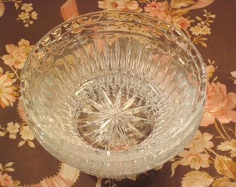 Vintage Cut Glass Finger Bowls (3)