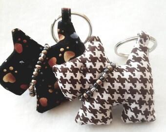 Set of 2 Handmade  Key Ring Accessory  / Key holders