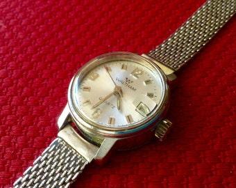 Waltham watch womens Quartz Early Beautiful Authentic Womens Wrist Watch silver tone case