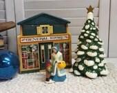 Mrs. McConnell's Christmas Corner Vintage Avon Christmas Village