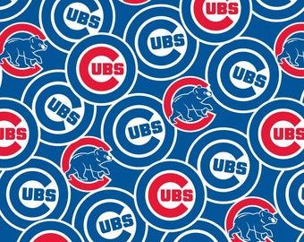 Chicago Cubs cotton fabric by Fabric Tradition