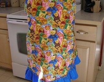 "Plus size ""Beary""  cute apron"