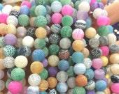 65 AGATE Gemstone Beads 6mm - COD6649