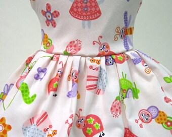 Garden Mouse Sleeveless Dress for your American Girl Doll E