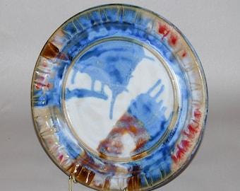 Handmade Stoneware Plate