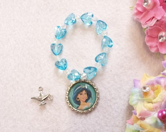 10 Jasmine Bracelets Party Favors