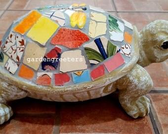 Mosaic Turtle Mosaic Statue Turtle