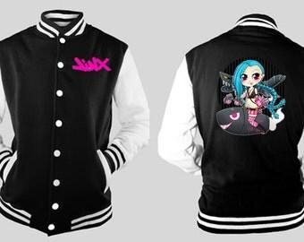 League of Legends JINX varsity jacket