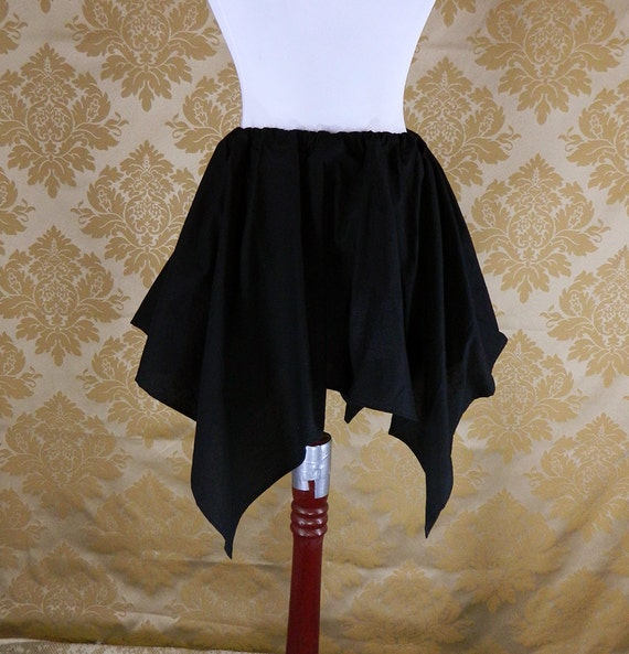 "Custom Made -- Cotton Pixie Petal Skirt -- 4 Point, 23"" Point Length -- Fits up to 32"" Waist"