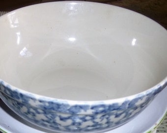 MARKED DOWN-Delft Bowl Blue and White