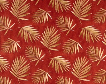 Two 20 x 20  Custom Designer Decorative Pillow Covers for Indoor/Outdoor - Leaves - Rust Gold Tan