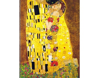 iCanvas The Kiss Gallery Wrapped Canvas by Gustav Klimt