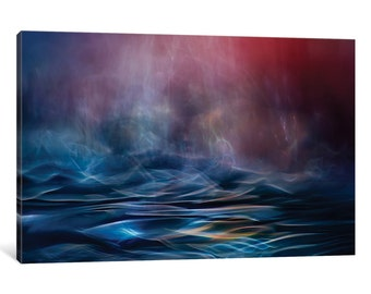 iCanvas Untitled IV Gallery Wrapped Canvas Art Print by Willy Marthinussen
